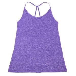 Nike Dri-Fit Strappy Purple Tank Top Sz Medium